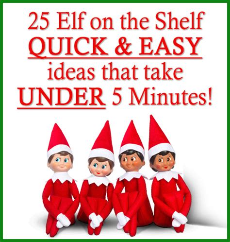 All On The Shelf 25 on the shelf and easy ideas that take 5 mins the big moon