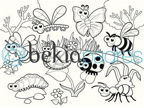 imagenes para colorear jardin de infantes insectos en el jard 237 n dibujo para colorear