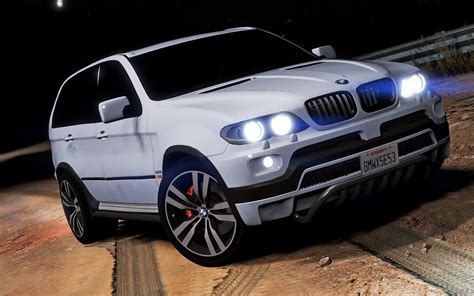 bmw e53 bmw x5 e53 2005 sport package add on replace gta5