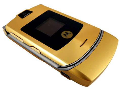 Gift It Gold Dolce Gabbana Razr V3i by Image Gallery Motorola Razr V3 Gold