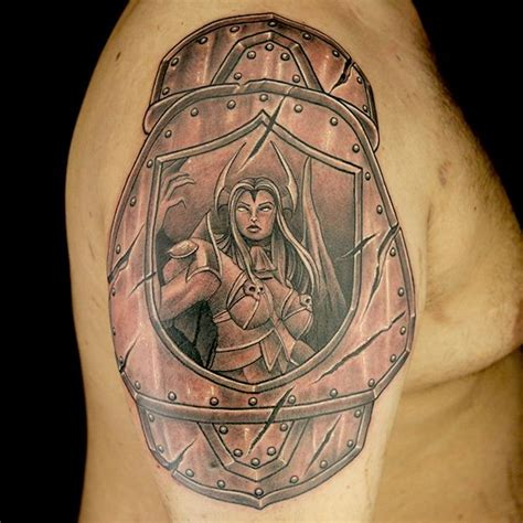 16 Best Shoulder Armor Tattoos Images On Pinterest Ink Armor Of God Ink Masters