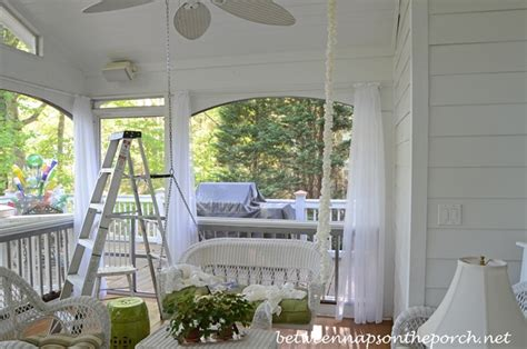 porch swing chain covers hide metal swing chains for a softer look on a porch