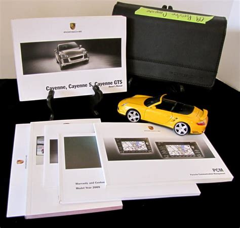 free download parts manuals 2009 porsche cayenne user handbook find 2009 porsche cayenne with navigation owners manual set o670 motorcycle in rancho palos