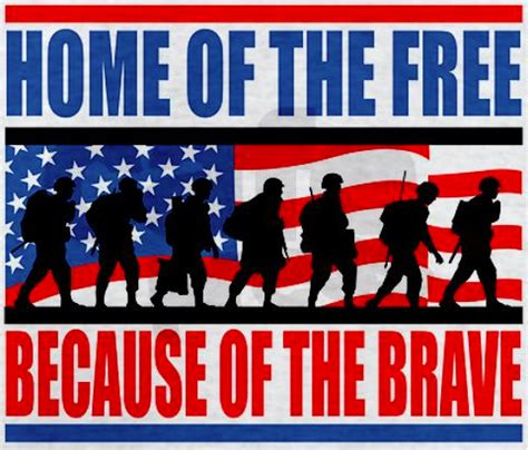 home of the free because of the brave pictures photos