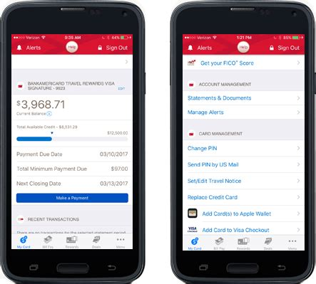app bank of america mobile banking app from bank of america
