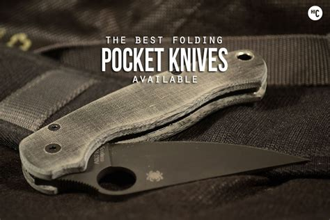 the best folding knife best pocket knives