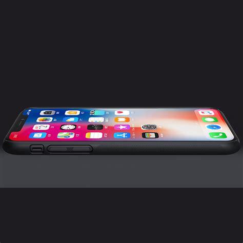 Nillkin Hardcase Iphone X nillkin frosted shield apple iphone x black