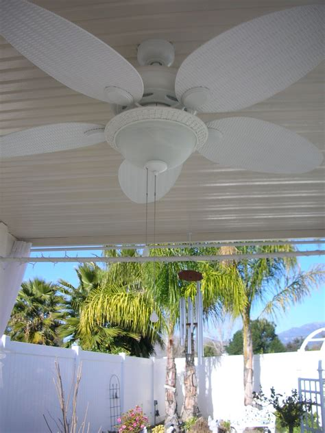 shabby chic ceiling fan with light shabby chic ceiling fan in the lanai ceiling fan