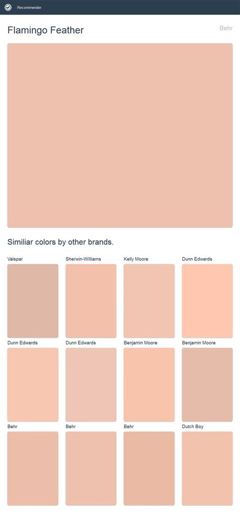 behr paint colors 2017 flamingo feather behr click the image to see similiar