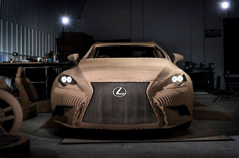 first lexus made the origami inspired lexus the is that s made out of