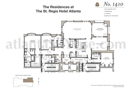 st regis floor plan st regis residences buckhead now selling 7 luxury residences atlantaskyriseblog