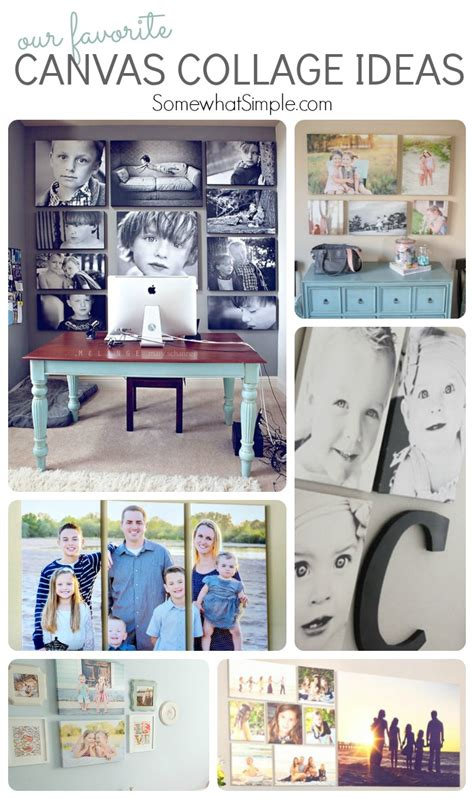 photo collage ideas top 10 canvas collage ideas somewhat simple