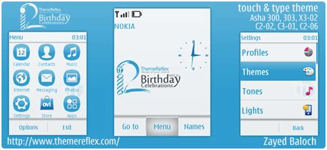 themes reflex nokia c2 02 themereflex 2nd birthday theme for nokia series 40