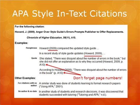 Apa Powerpoint Lis 590 Directed Fieldwork How To Use Apa Format In Powerpoint