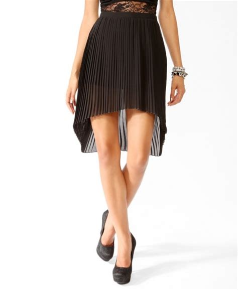 pleated high low skirt 9 playful pleated skirts