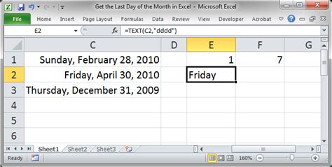 excel format just month and year get the last day of the month in excel teachexcel com