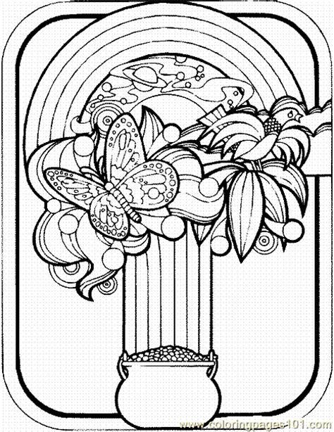 St Patricks Day Coloring Page 16 Coloring Page Free St S Day Coloring Pages For Adults