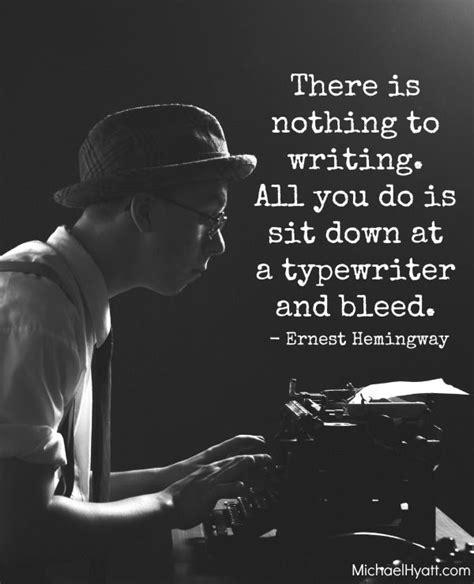 Hemingway Quotes On Writing