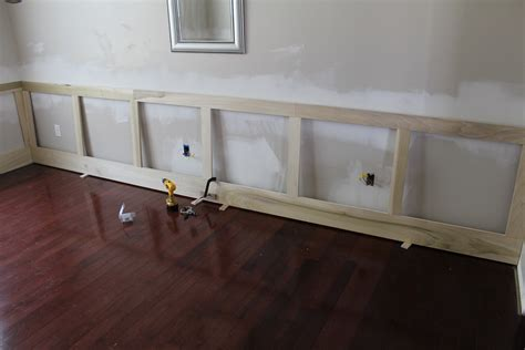 Raised Panel Wainscoting Diy by Our Home From Scratch