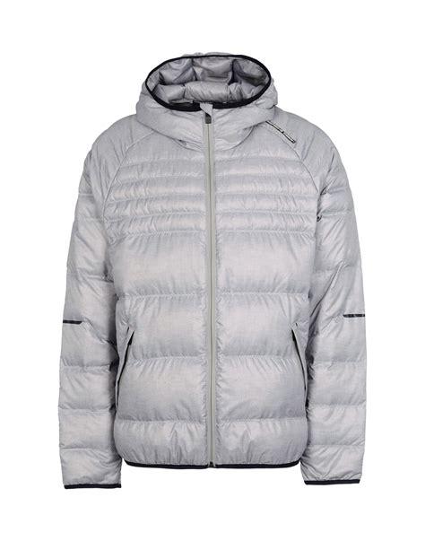 porsche design down jacket porsche design down jacket in gray for men grey lyst