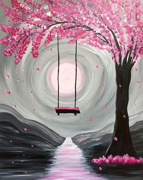 paint nite events near me paint nite whimsical blossoms paint nite for