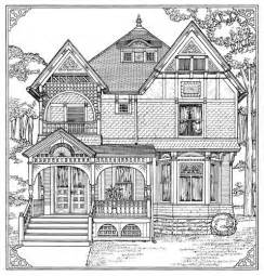 coloring pages of houses homes coloring pages for adults how to draw