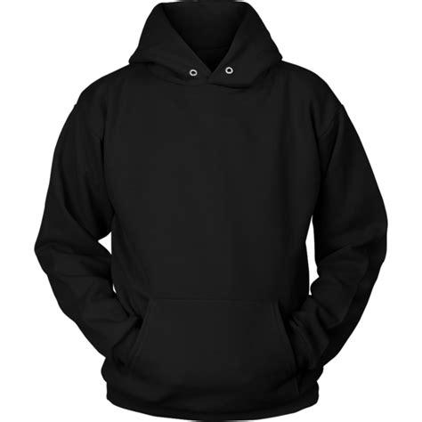 black hoodie template unisex hoodie teelaunch