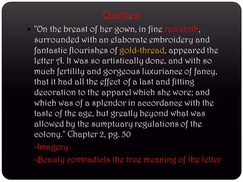 Scarlet Letter Introduction Quotes Scarlet Letter Quotes By Chapter Quotesgram
