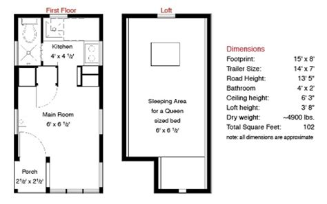 small house trailer floor plans tiny house trailer floor plans