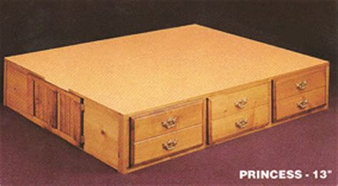 Waterbed Frame With Drawers by Hardside Waterbeds Waterbed Frame For Sale Complete