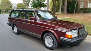 240 Volvo Wagon 1993 Volvo 240 Wagon Classic One Owner For Sale Photos
