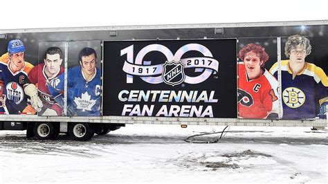 nhl centennial fan arena csga the hub for sport business