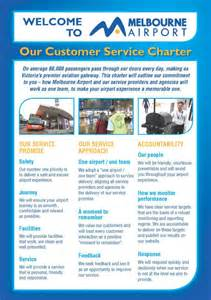 customer care charter template melbourne airport customer service charter melbourne airport