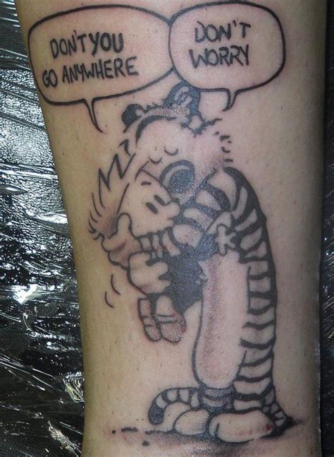 calvin and hobbes tattoo calvin and hobbes calvin and hobbes calvin
