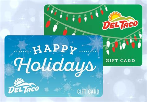 Del Taco Gift Cards - the gift that keeps on giving del taco holiday gift cards restaurantnewsrelease com