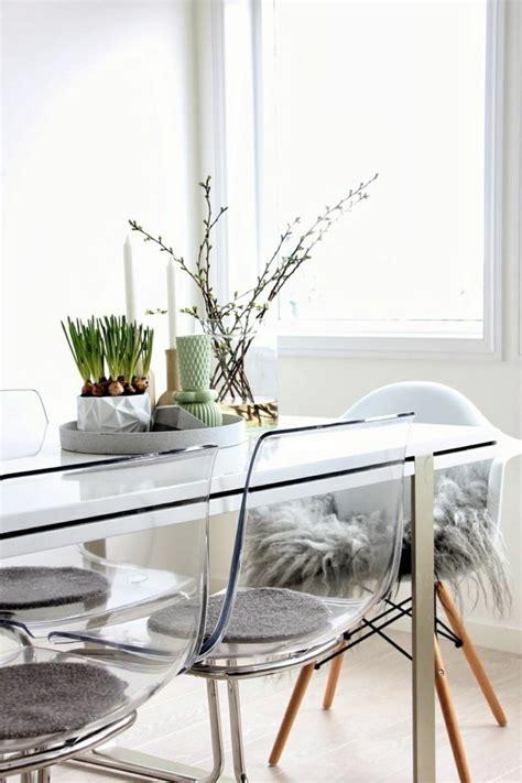 chaise de cuisine transparente pourquoi choisir la chaise design transparente