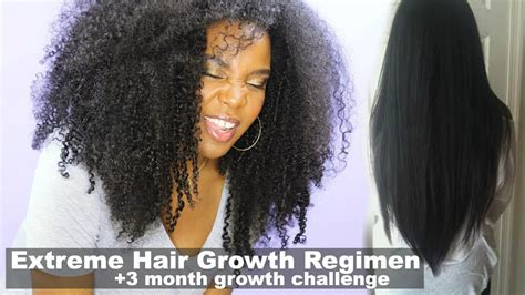 hair growth 3 months pictures extreme hair growth regimen how i grew my natural hair