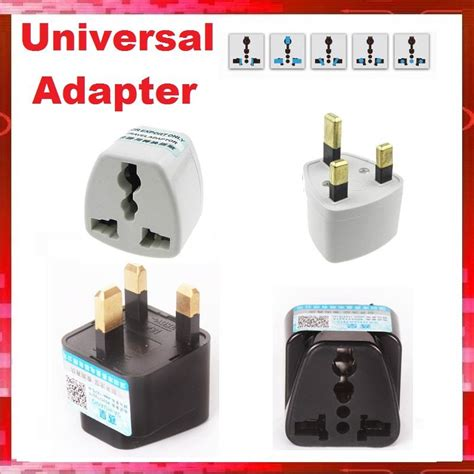Universal Travel Changing Adapter As 24 Hour Non Stop 3pin Universal Multi Power Travel Uk Converte End 12