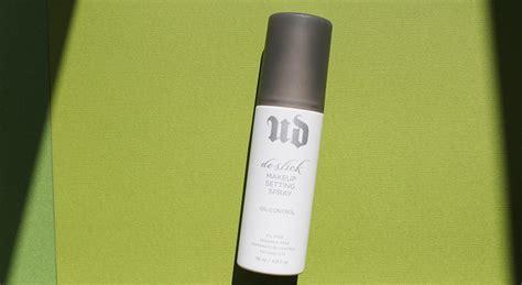 Decay De Slick Setting Spray 118ml review decay de slick beautyproductsjunkie