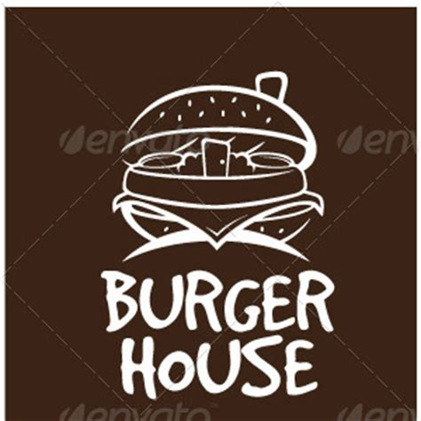 burger house burger house logotype by maioriz graphicriver