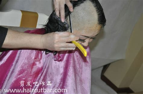 haircut bar headshave haircutbar bald short hairstyle 2013