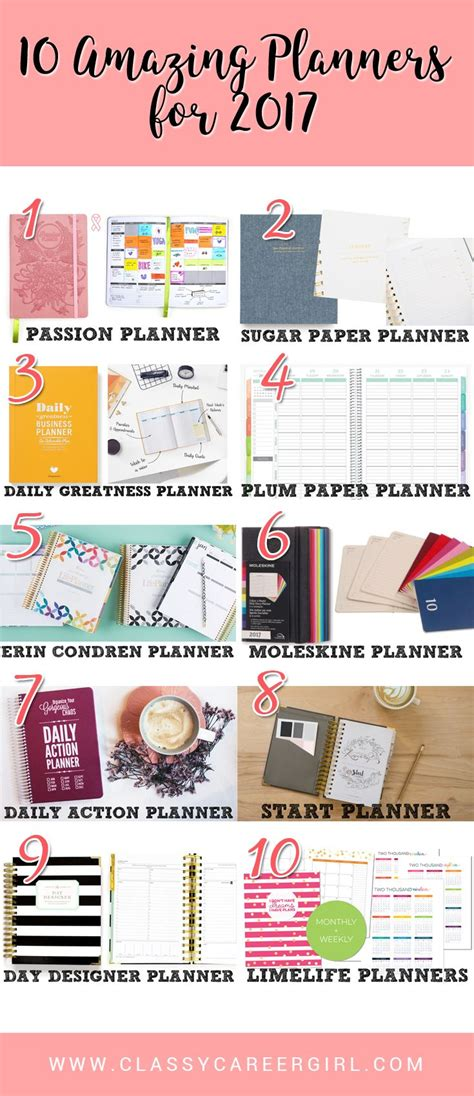 best planners and organizers 25 best ideas about best planners on diary