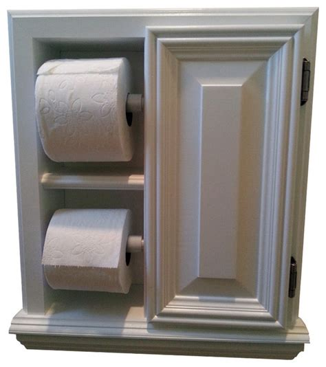 Toilet Paper Holder Cabinet by Deltona Series Deluxe Recessed Toilet Paper Cabinet