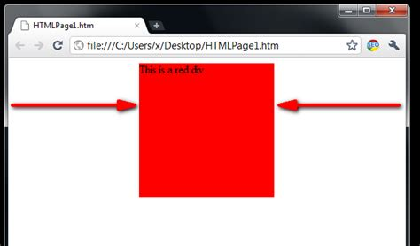 Margin Auto by How To Set A Div In The Center Of A Web Browser Using Margins
