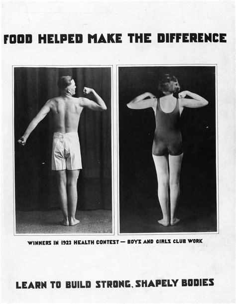 Du temps ou les Américains n'étaient pas obèses