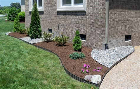 nice stones edging and gravel landscaping ideas jbeedesigns outdoor stones edging and