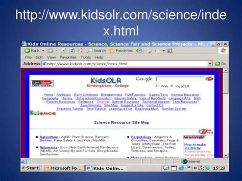 Ppt 100 Best Websites On Science For Kids Powerpoint Websites For Powerpoint Presentations