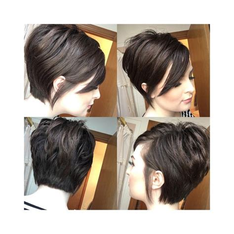 short hair long bangs tucked behind ear 17 best ideas about feminine short hair on pinterest