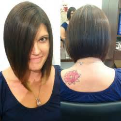 the bob haircut style front and back back view of long bob haircut hollywood official