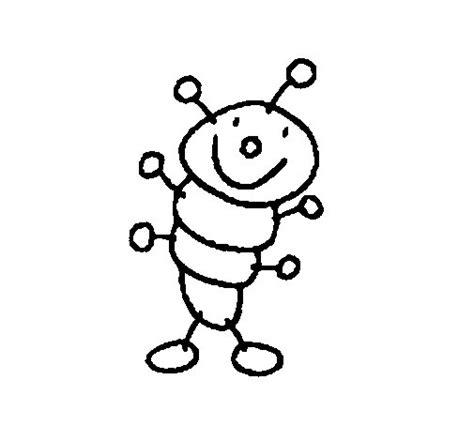 imagenes infantiles para colorear de gusanos dibujo de gusano para colorear dibujos net